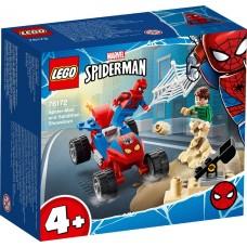 Lego Super Heroes Схватка Человека-Паука и Песочного Человека 76172