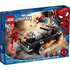 Lego Super Heroes Человек-Паук и Призрачный Гонщик против Карнажа 76173