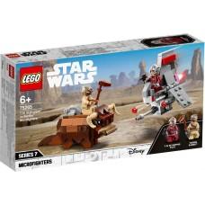 Lego Star Wars Микрофайтеры: Скайхоппер T-16 против Банты 75265