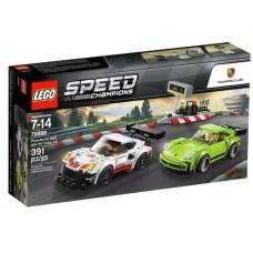 Lego Speed Champions Porsche 911 RSR и 911 Turbo 3.0 75888
