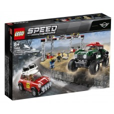 Lego Speed Champions Автомобили 1967 Mini Cooper S Rally и 2018 MINI John Cooper Works Buggy 75894