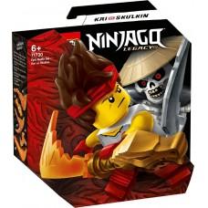 Lego Ninjago Легендарные битвы: Кай против Армии скелетов 71730