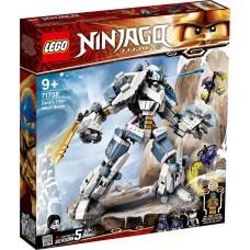 Lego Ninjago Битва с роботом Зейна 71738