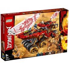 Lego Ninjago Райский уголок 70677
