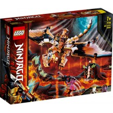 Lego Ninjago Боевой дракон Мастера Ву 71718