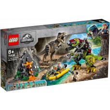 Lego Jurassic World Бой тираннозавра и робота-динозавра 75938