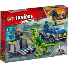 Lego Juniors Грузовик спасателей для перевозки раптора 10757