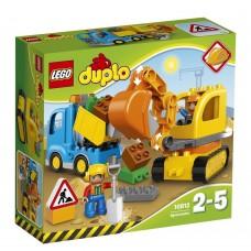 Lego Duplo Грузовик и гусеничный экскаватор 10812 42318-03 bb-10812