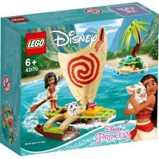 Lego Disney Princesses Морские приключения Моаны 43170