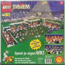 Lego System Зеленая строительная пластина Футбольное поле 3302