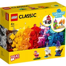 Lego Classic Прозрачные кубики 11013