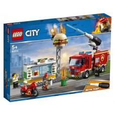 Lego City Пожар в бургер-кафе 60214