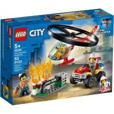 Lego City Пожарный спасательный вертолёт 60248