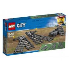 Lego City Железнодорожные стрелки 60238