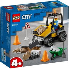 Lego City Автомобиль для дорожных работ 60284