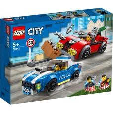 Lego City Арест на шоссе 60242