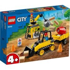 Lego City Строительный бульдозер 60252