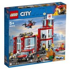 Lego City Пожарное депо 60215