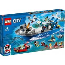 Lego City Катер полицейского патруля 60277