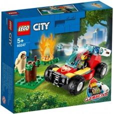 Lego City Лесные пожарные 60247