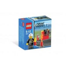 Lego City Firefighter Пожарник 5613