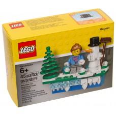 Lego Iconic Магнит Новый Год 853663