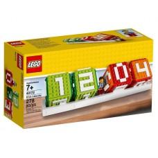Lego Iconic Календарь из кубиков 40172