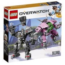 Lego Overwatch Д.Ва и Ренхардта 75973