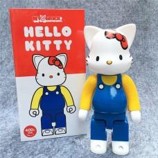 Дизайнерская Игрушка Беарбрик Кавс Bearbrick Kaws Фигурка Hello Kitty Bearbrick 400 % (высота около 28 см)