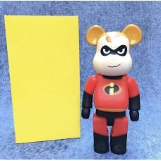 Дизайнерская Игрушка Беарбрик Кавс Bearbrick Kaws Фигурка Сурсемейка Bearbrick 400 % (высота около 28 см)