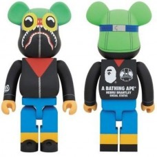 Фигурка Brantley Bearbrick 400 %
