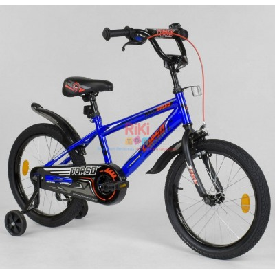 *Велосипед 2-х колёсный CORSO (18 дюймов ) арт. 5509