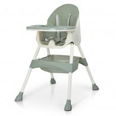 Детский Стульчик трансформер для кормления Bambi, съемный столик, корзина, 98х67х67 см, Olive арт. 4136