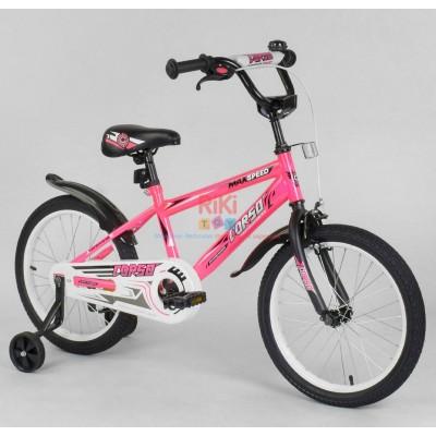*Велосипед 2-х колёсный CORSO (18 дюймов ) арт. 2395