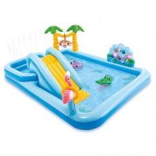 """Игровой центр с бассейном Intex """"Джунгли"""" арт. 57161"""