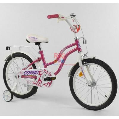 *Велосипед 2-х колёсный CORSO (18 дюймов ) арт. 67104