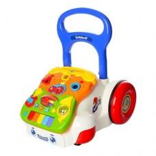Детская Развивающая Игрушка Ходунки-каталка Машинка, шестеренки, звук. эффекты, размер 36х39х45 арт. 6218