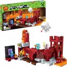 Конструктор для мальчиков с 5 мини-фигурками Lele Minecraft Подземная крепость 589 деталей арт. 79147 43651-06 lvt-79147