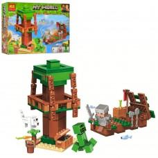 Конструктор для мальчиков Путешествие к острову сокровищ: плот, фигурки, 161 деталь - Bela Minecraft My World