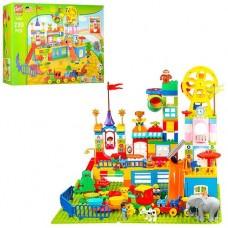 """Игровой развивающий конструктор для малышей """"Парк развлечений"""", 230 деталей арт. 1055"""