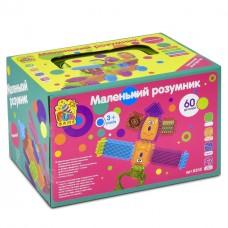 Игровой развивающий конструктор игольчатый  для малышей ТМ Fun Game, 60 деталей арт. 8205