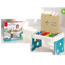 Игровой столик - песочница с конструктором арт. 1039