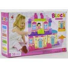 Игровой развивающий конструктор для малышей Block , 38 деталей арт. 313