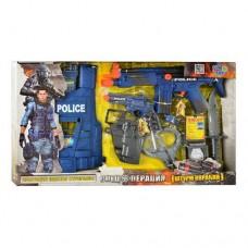 Игровой набор полицейского с бронежилетом арт. 33520