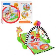 Развивающий игровой коврик для малышей с яркими подвесками,  размер коврика 45-100 смарт. M 1573