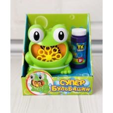 Развлекательный набор для детей - Генератор запуска мыльных пузырей, бутылка с мыльной жидкостью в комплекте