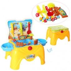 """Детский игровой столик """"Рыбалка"""" (игровое поле и 22 детали) со световыми и звуковыми эффектами арт. 668-37"""