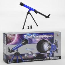 Детская подзорная труба (телескоп) для ребенка, увеличение 20x, 30x, 40x арт. 2101