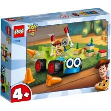 Lego Toy Story 4 Вуди на машине 10766