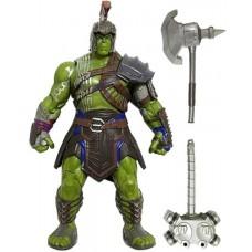 Игровая Коллекционная фигурка Халк Гладиатор Тор: Рагнарек с боевыми аксессуарами высота 20 см - Hulk, Gladiator